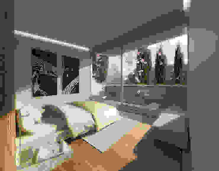 Dormitorios de estilo  de Office of Feeling Architecture, Lda