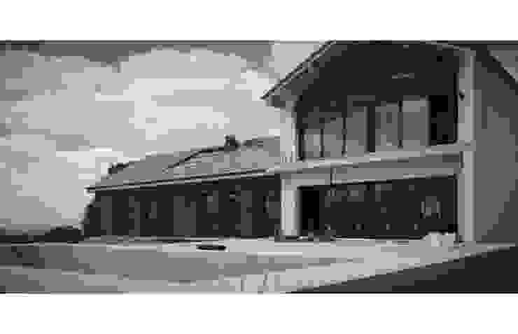 Obra quase terminada de casa de campo em França por OGGOstudioarchitects, unipessoal lda Moderno