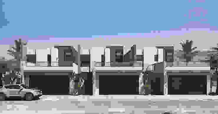 Proyecto Chapultepec II CODIAN CONSTRUCTORA Casas minimalistas
