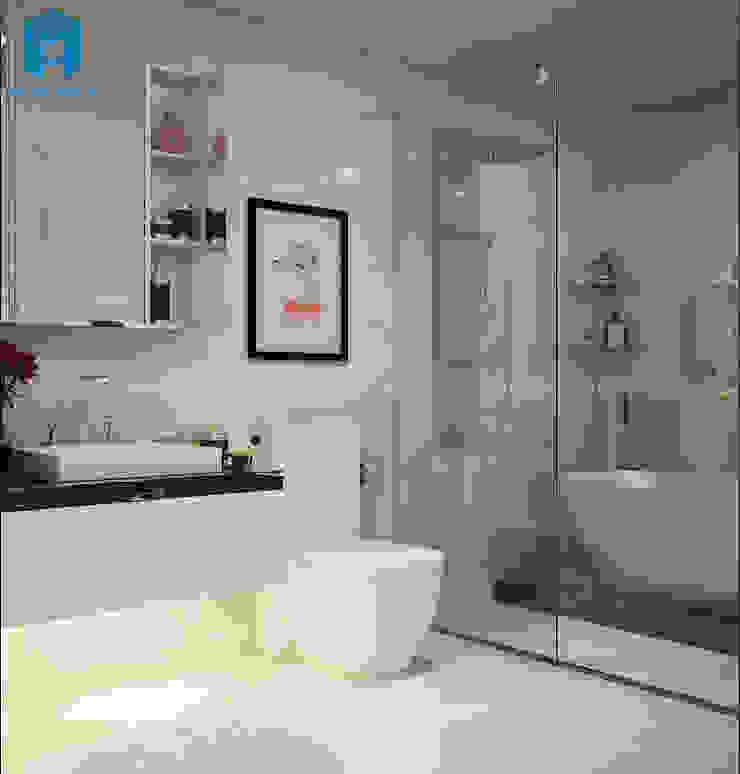Mẫu phòng tắm hiện đại sang trọng Phòng tắm phong cách hiện đại bởi Công ty TNHH Nội Thất Mạnh Hệ Hiện đại