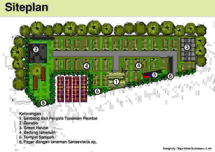 Desain kebun sayur Superindo Oleh Bengkel Tanaman Asia