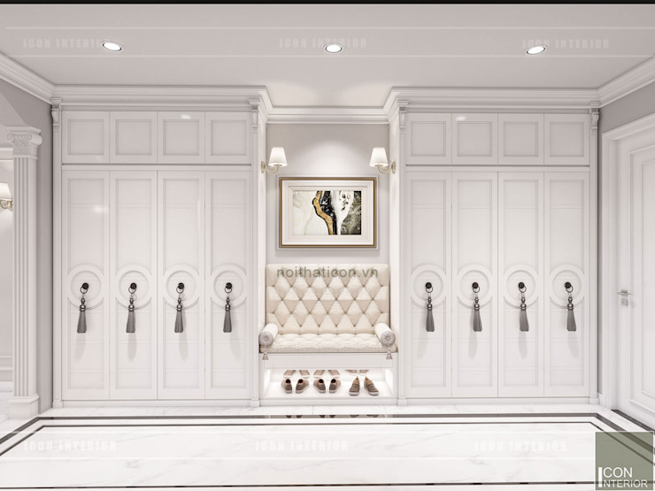 Thiết kế căn hộ Landmark 2 Vinhomes Central Park – Phong cách Tân Cổ Điển bởi ICON INTERIOR Kinh điển