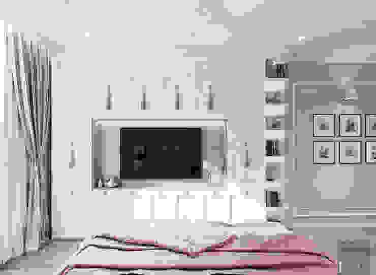 Thiết kế căn hộ Landmark 2 Vinhomes Central Park – Phong cách Tân Cổ Điển Phòng ngủ phong cách kinh điển bởi ICON INTERIOR Kinh điển