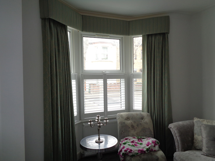 Blackout Lined Curtains with Pelmet Board The Complete Blind Service Ltd