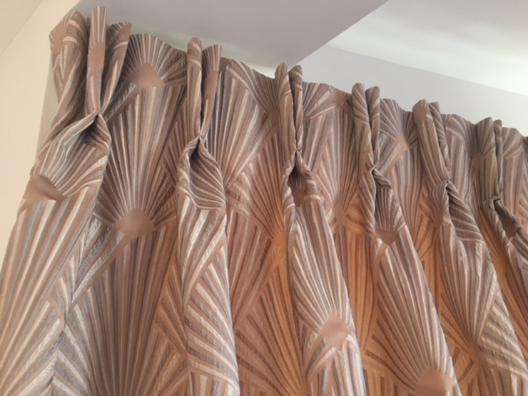 Pinch Pleat Blackout Lined Curtains The Complete Blind Service Ltd