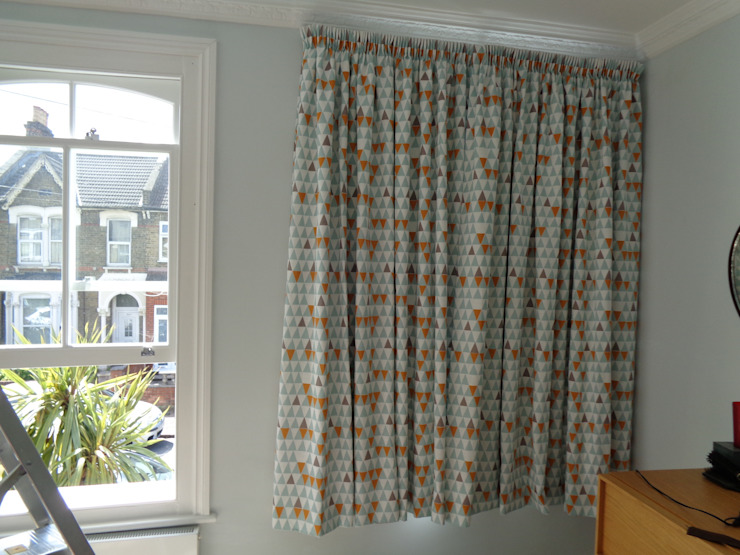 Pencil Pleat Blackout Lined Curtains The Complete Blind Service Ltd