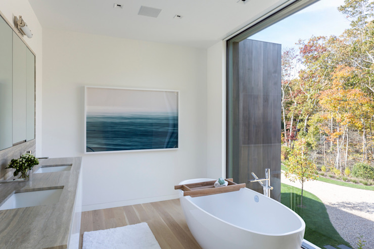Salle de bain moderne par Ecologic City Garden - Paul Marie Creation Moderne