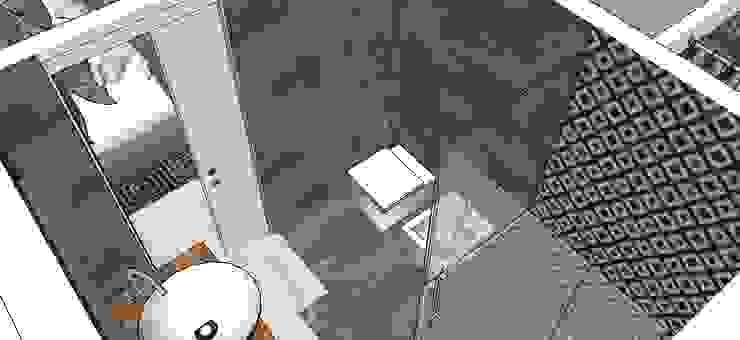 Frazione di appartamento Bagno moderno di Antonella Petrangeli Moderno