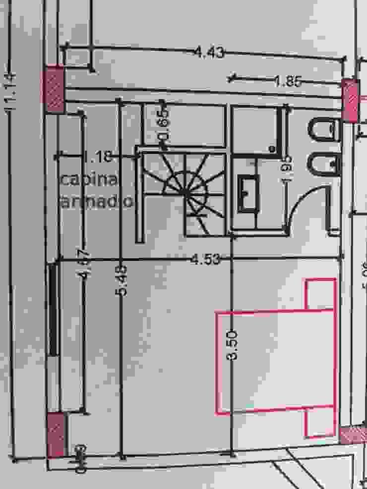 Frazione di appartamento di Antonella Petrangeli Moderno