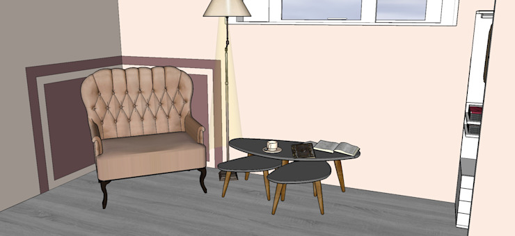 Frazione di appartamento Soggiorno moderno di Antonella Petrangeli Moderno