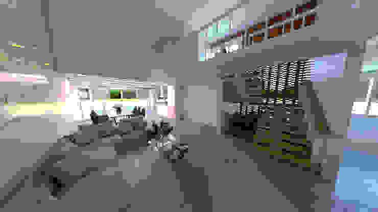 VISTA DESDE LA SALA Salas modernas de CAMark projects Moderno