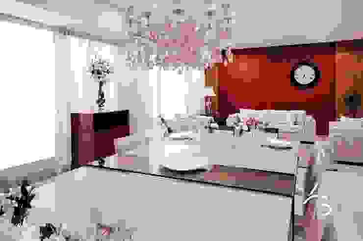SALA DE JANTAR: Salas de jantar  por Adriana Scartaris: Design e Interiores em São Paulo,Clássico