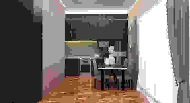 Kitchen Set Oleh Kolletra Visual Studio Minimalis Kayu Lapis