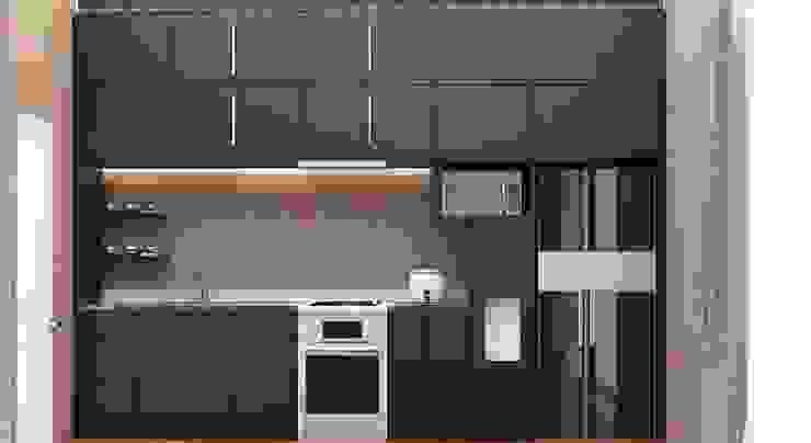 Kitchen Set Oleh Kolletra Visual Studio Minimalis Granit