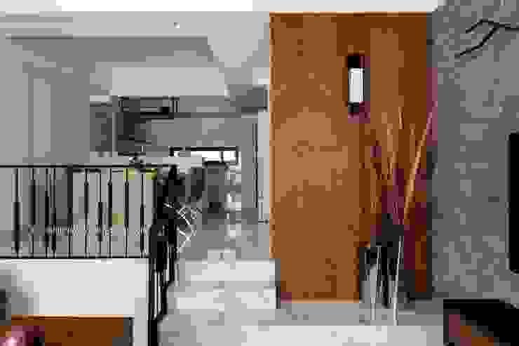 玄關造型 根據 鼎士達室內裝修企劃 日式風、東方風 大理石