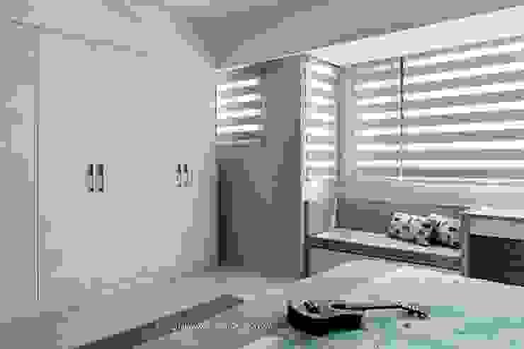 日式東方風新竹張宅 根據 鼎士達室內裝修企劃 北歐風 木頭 Wood effect