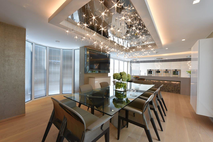 Mr & Mrs Unsworth by Diane Berry Kitchens Modern Glass