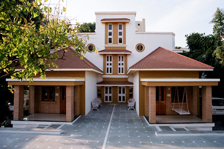 3BHK Twin Bungalow in Ahmedabad:  Bungalows by Rushabh consultancy,