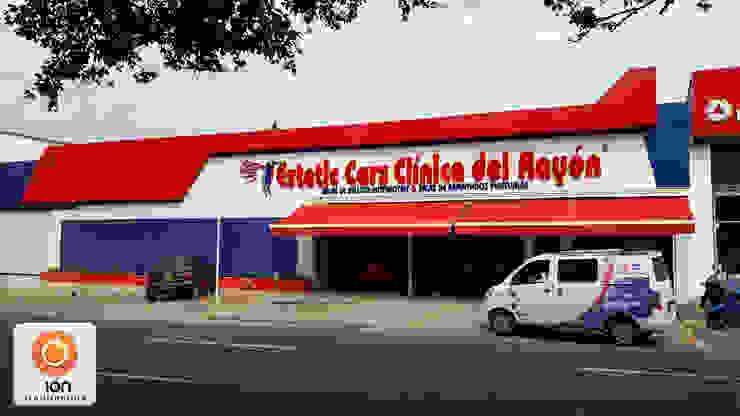 CLINICA DEL RAYON / Reciclaje Arquitectonico / Cali, Colombia Bodegas de estilo minimalista de ION arquitectura SAS Minimalista
