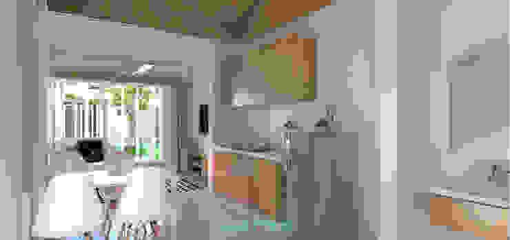 Interior Tipe 36/60 Dapur Minimalis Oleh homify Minimalis