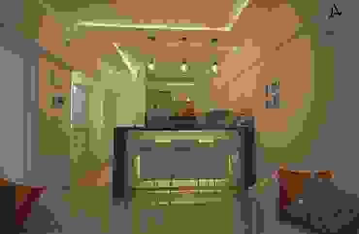 Aspire Arch Studios Livings de estilo minimalista Blanco