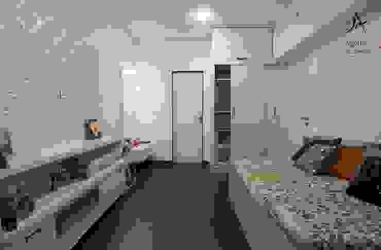 Aspire Arch Studios Dormitorios de estilo minimalista Blanco
