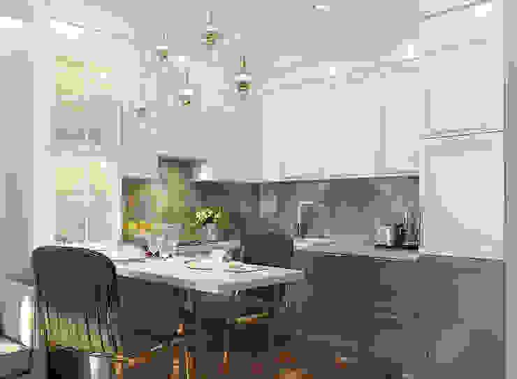 Modern kitchen by FISHEYE Architecture & Design Modern