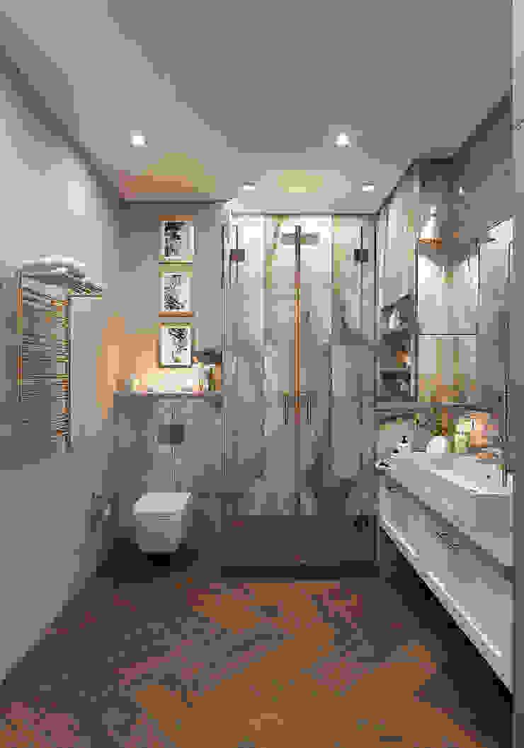 Modern bathroom by FISHEYE Architecture & Design Modern