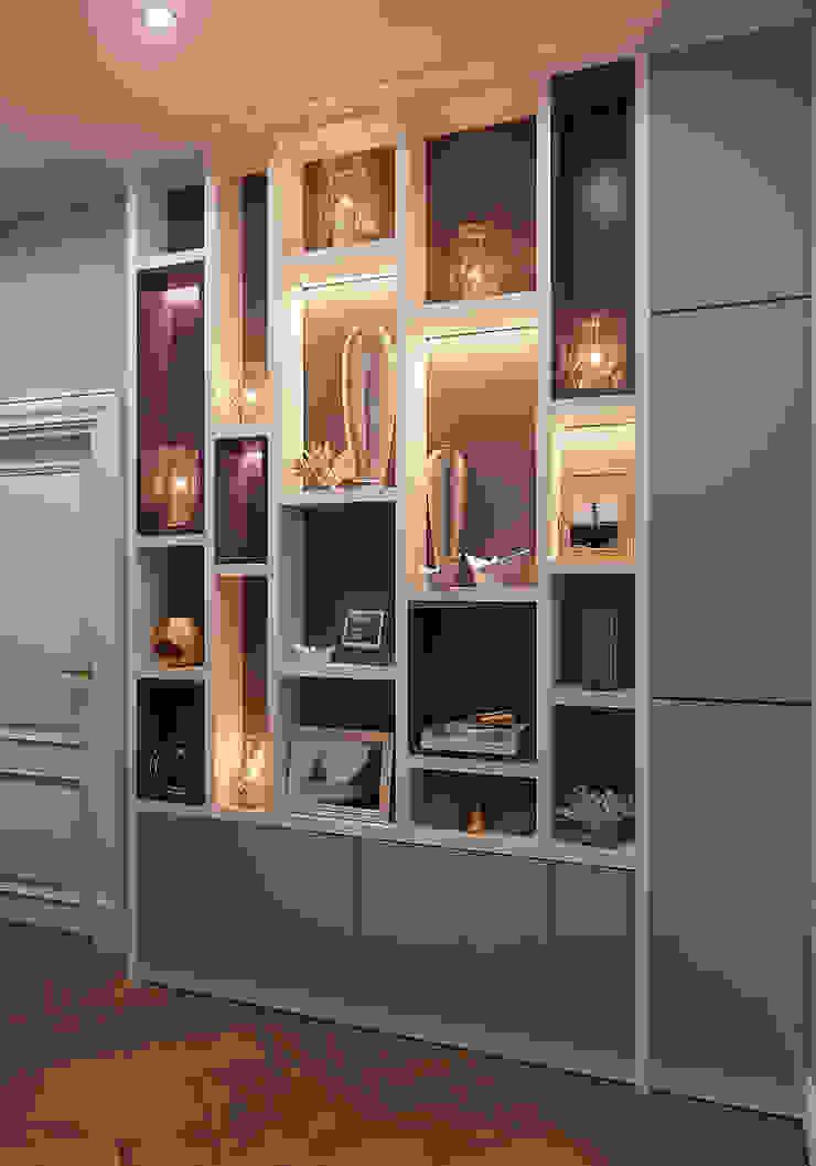 Modern corridor, hallway & stairs by FISHEYE Architecture & Design Modern
