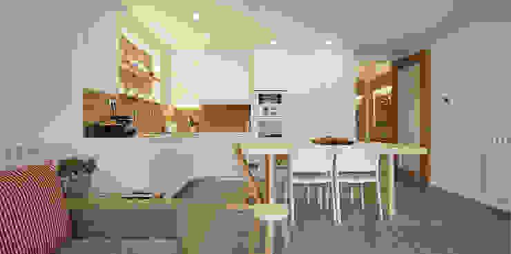 Scandinavian style dining room by Abrils Studio Scandinavian