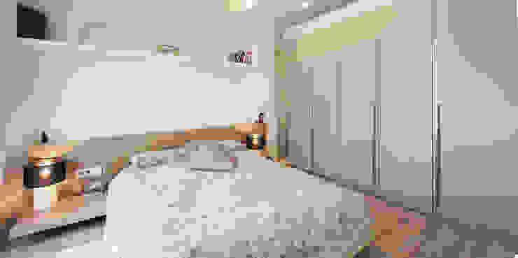 Mediterranean style bedroom by Abrils Studio Mediterranean
