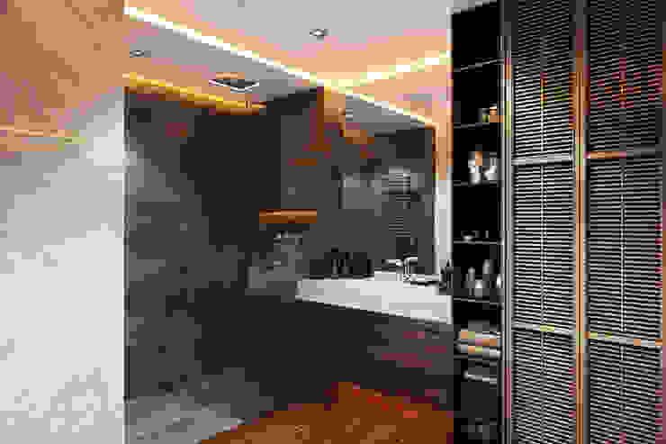 Openspace на Глухарской Ванная комната в стиле минимализм от FISHEYE Architecture & Design Минимализм