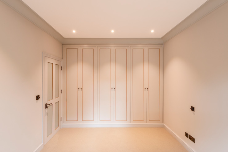Three Storey Maisonette—Chelsea Prestige Architects By Marco Braghiroli Classic style bedroom