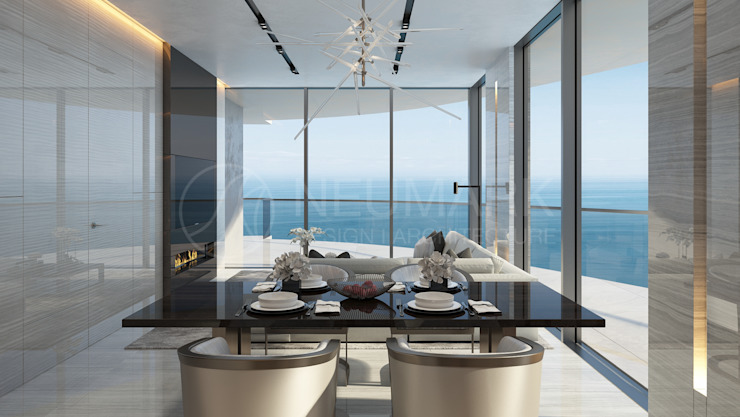 NEUMARK Minimalist dining room