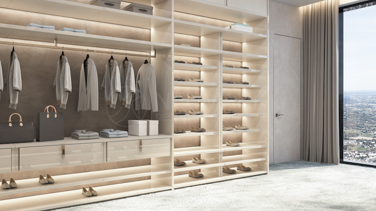 NEUMARK Minimalist style dressing rooms