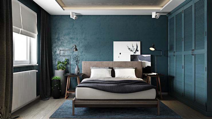 모던스타일 침실 by FISHEYE Architecture & Design 모던