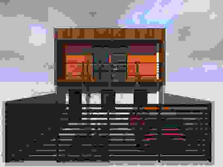 Detached home by Vicente Espinoza M. - Arquitecto
