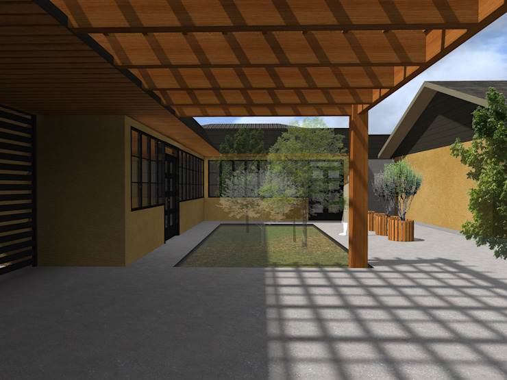 Vicente Espinoza M. - Arquitecto Single family home Wood
