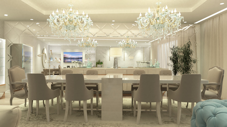 Dining room by Glim - Design de Interiores, Classic
