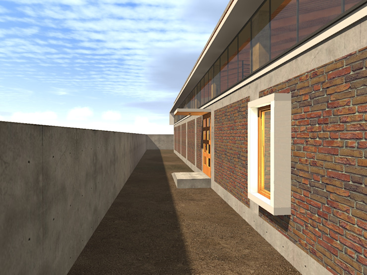 modern  by Vicente Espinoza M. - Arquitecto , Modern