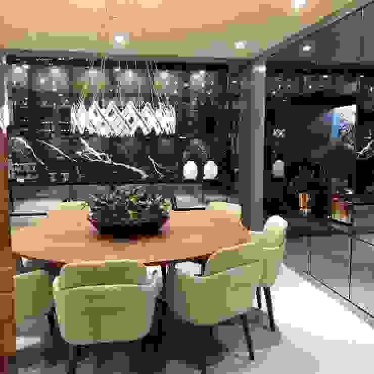 G.F Studio Design Modern Home Wine Cellar Black