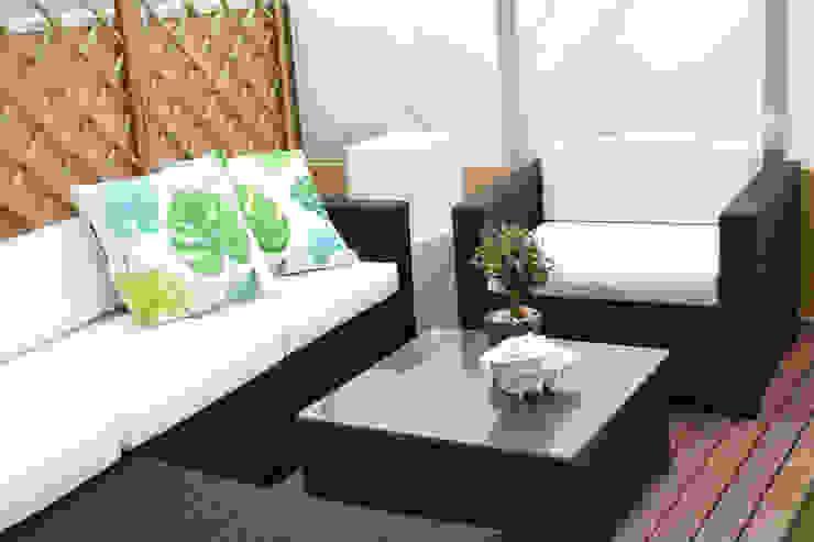 Espaço exterior Varandas, alpendres e terraços mediterrâneo por Perfect Home Interiors Mediterrâneo