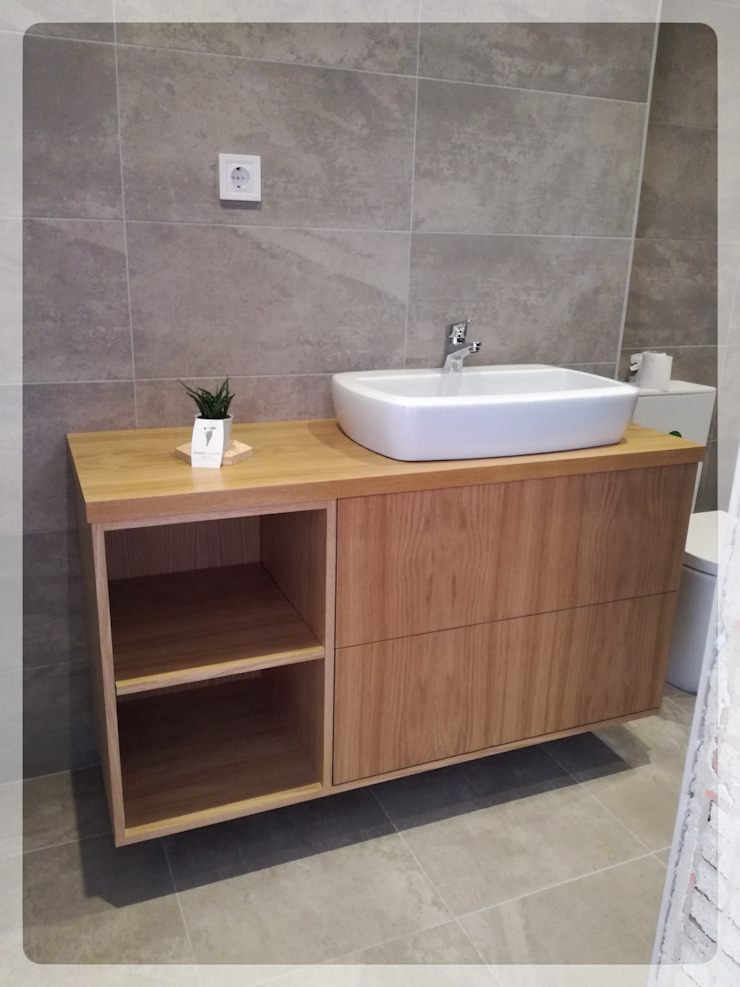 WOOD TAILORS - Boutique de Projectos de Carpintaria 現代浴室設計點子、靈感&圖片