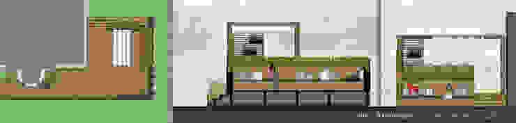 Projekt Moderner Balkon, Veranda & Terrasse von KHG Raumdesign - Innenarchitektin in Berlin und Umland, mgr. ing. Architektur Katharina Hajduk-Gast Modern Holzwerkstoff Transparent