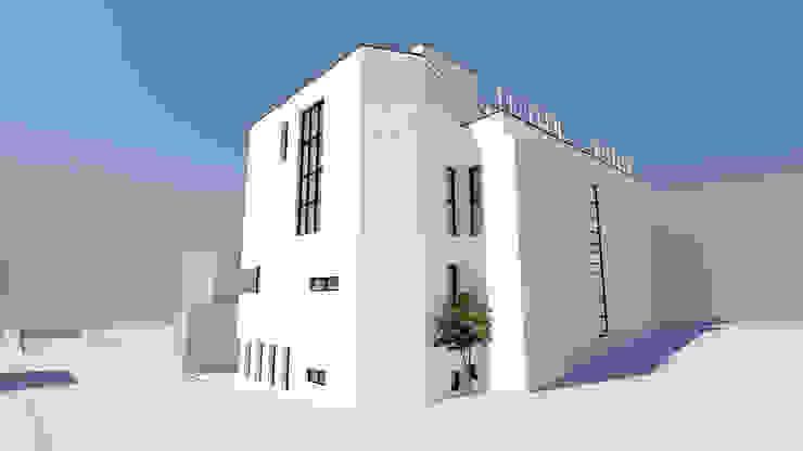 J House: 건축사사무소 어코드 URCODE ARCHITECTURE의 현대 ,모던