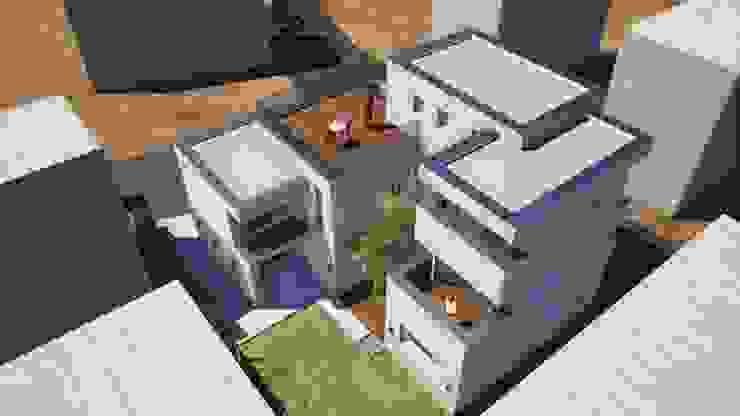 G house: 건축사사무소 어코드 URCODE ARCHITECTURE의 현대 ,모던
