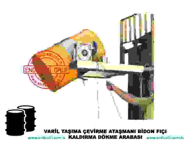 ENDUSTRI GRUP-Forklift Varil Taşıma Çevirme Ataşmanı ENDÜSTRİ GRUP Endüstriyel
