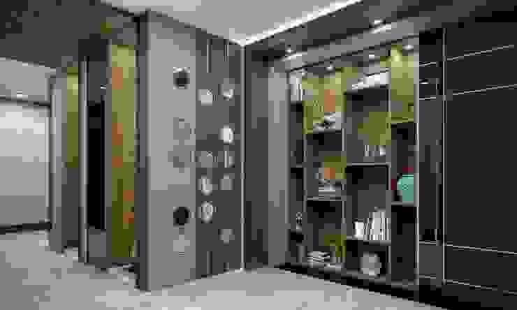Couloir, entrée, escaliers modernes par VERO CONCEPT MİMARLIK Moderne