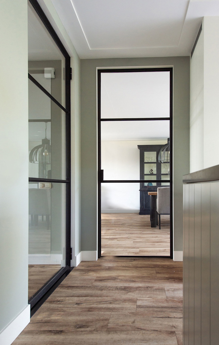 ID-Architectuur Glass doors Glass Transparent