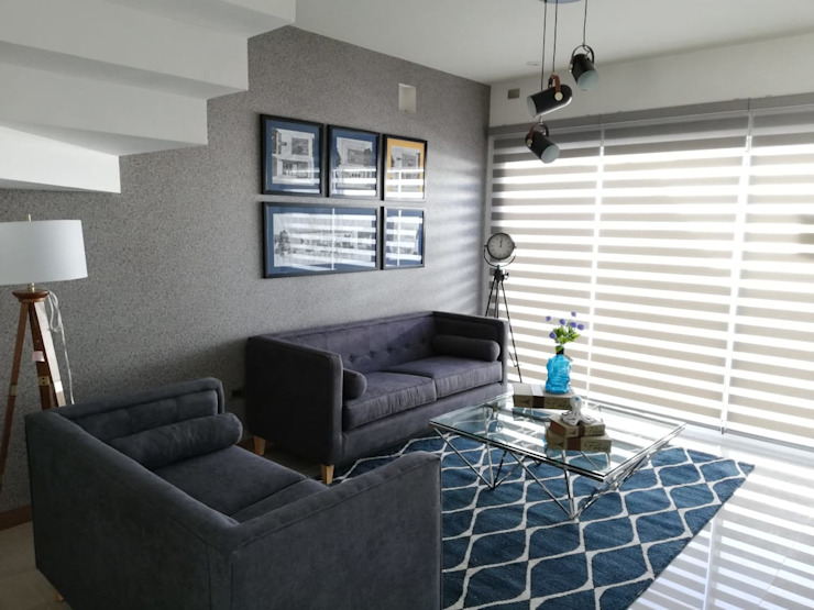 Living room by Contempo Deco, Modern